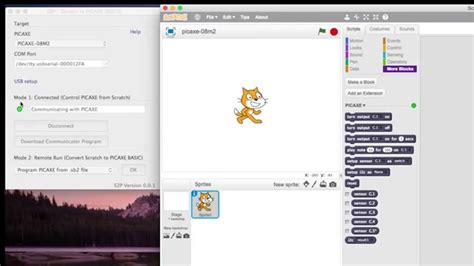 tutorial youtube scratch scratch to picaxe tutorial 1 youtube