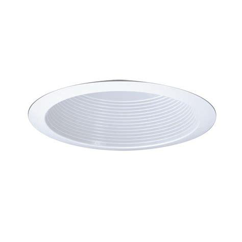 Ceiling Light Reflector All Pro 6 In Gloss White Cfl Recessed Ceiling Light Reflector Baffle And Trim Ert772whtts The
