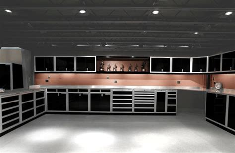 Garage Storage System Best Designed Workshop Studio Studio Design Gallery Best Design
