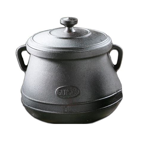 olla hierro fundido ollas de hierro fundido guison garcima 10 litros cazuela