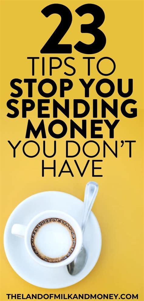 stop spending money fast  tips  tricks