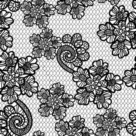 lace pattern vector art retro lace ornament pattern seamless vector 01 free download