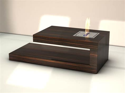 Designer Coffee Tables Modern Coffee Table With Built In Fireplace Coffee Table By Axel Schaefer Digsdigs