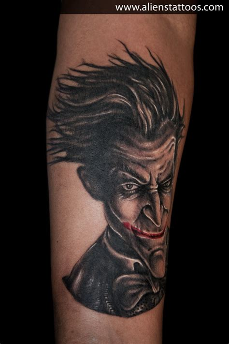 joker tattoo studio wolmirstedt batman joker tattoo inked by sunny at aliens tattoo mumbai