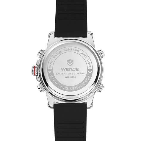 Jam Tangan Pria Jam Tangan Ripcurl R5190 Silver Baru weide jam tangan analog digital pria wh6403 black silver jakartanotebook