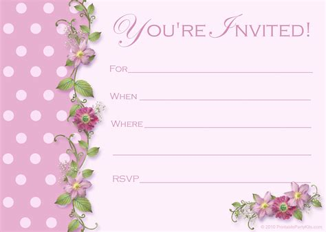 Birthday Invitations Templates Free Printable by Free Printable 16th Birthday Invitation Templates