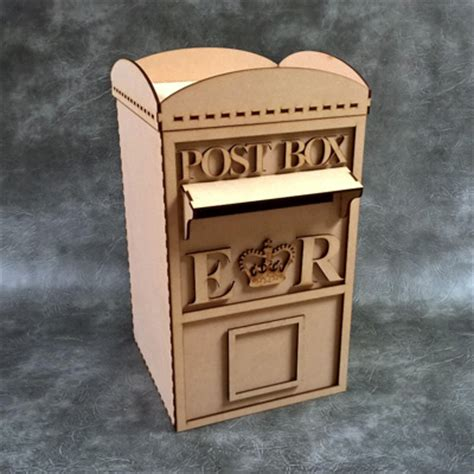 Wedding Box Kit by 3d Wedding Post Box Craft Kit