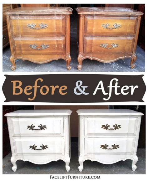 before after bedroom furniture painted glazed
