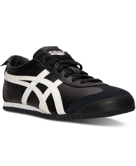 Asics Tiger Sneakers Black asics s onitsuka tiger mexico 66 casual sneakers from