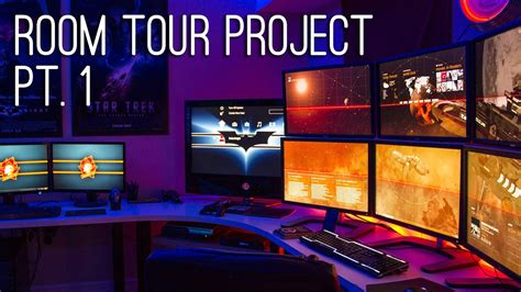 awesome room tours room tour project best gaming setups battlestations ep 1