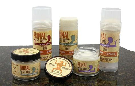 Primal Pit Paste Armpit Detox by Organic Deodorant Primal Pit Paste