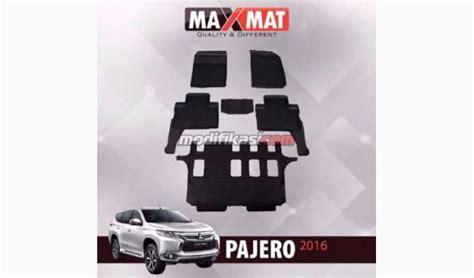 Harga Karpet Karet Pajero karpet maxmat mitsubishi all new pajero 2016