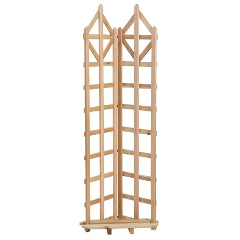 72 in redwood framed trellis 62413 the home depot