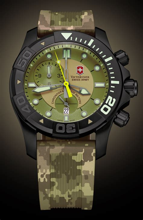 Swiss Army Hc8912whbr Chronograph what if swiss army dive master 500 chronograph ablogtowatch