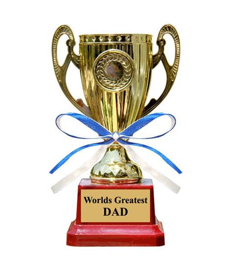 Snapdeal Home Decor by Everyday Gifts Worlds Greatest Dad Trophy Buy Everyday