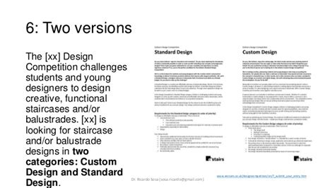 design brief exle for students exles of design briefs
