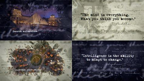 design inspiration after effects inspirational ink titles grunge after effects templates