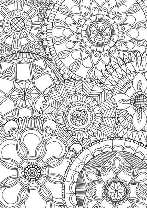 mandala coloring pages a4 1001 dessins de mandala 224 imprimer et 224 colorer