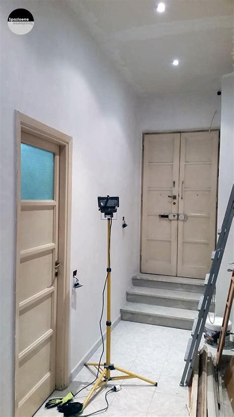 cartongesso ingresso foto rasatura soffitto cartongesso e pareti ingresso di