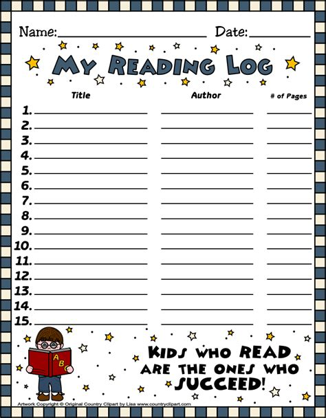 printable january reading log read write share reading logs english and spanish