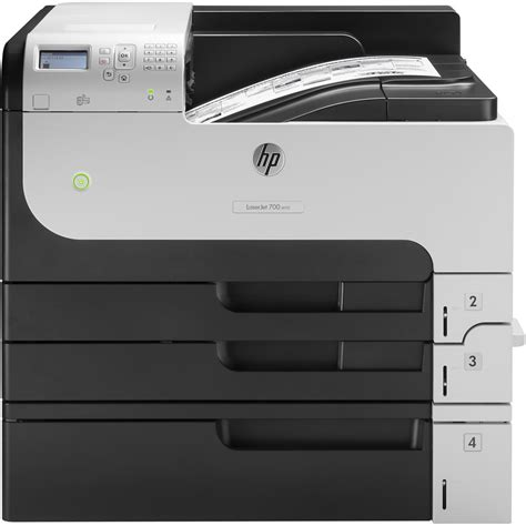 Printer A3 Hp Laserjet hp laserjet enterprise 700 m712xh a3 mono laser printer