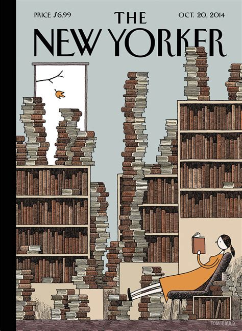 the best details from the new yorker s tmz profile cover story tom gauld s fall library the new yorker