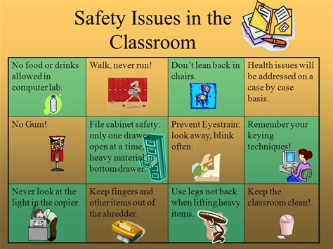classroom layout health and safety safety in the classroom ppt video online download