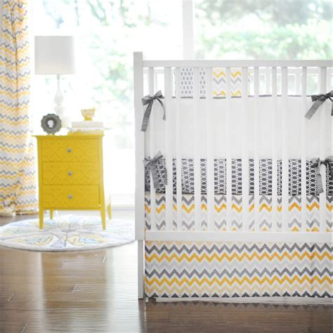 Yellow And Grey Baby Bedding 21 Inspiring Ideas For Creating A Unique Crib With Custom