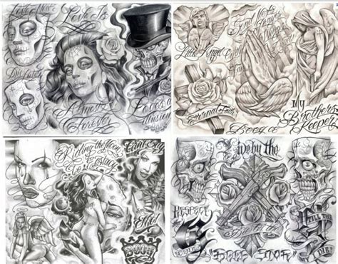 lowrider arte tattoo designs collection of 25 style designs