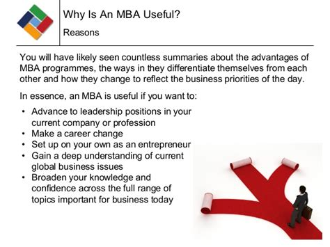 Reasons To Earn An Mba by What An Mba Can Do For You