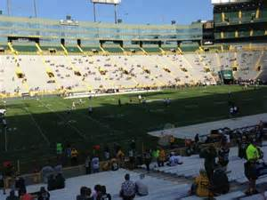 Section 115 Lambeau Field by Lambeau Field Section 114 Home Of Green Bay Packers