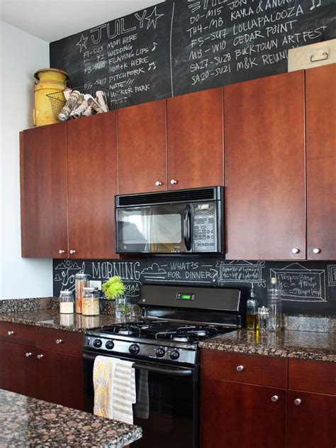 chalk paint ideas kitchen our best chalkboard paint ideas hgtv design blog
