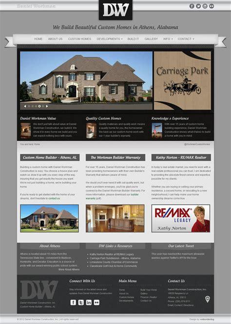 Joomla Web Design Template Home Builder Realty By Webunderdog On Deviantart Joomla Template Builder