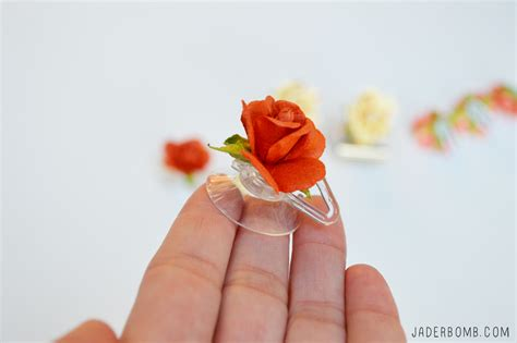 Things To Make With Paper - paper roses archives jaderbomb