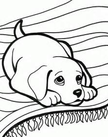 perritos bebe colouring pages 2