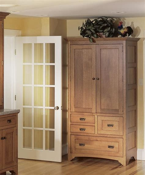freestanding pantry cupboard inside