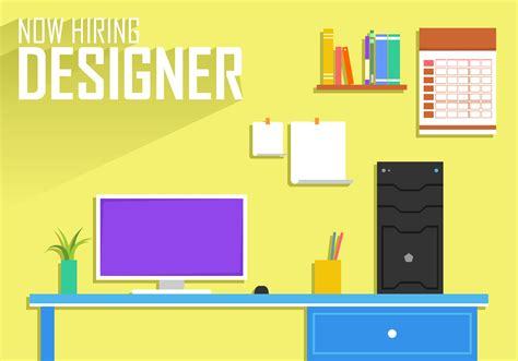 Hiring Template by Now Hiring Designer Poster Template Free Vector
