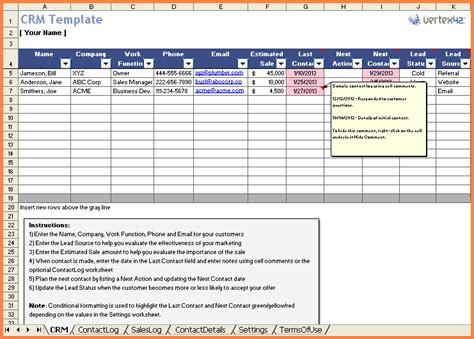 7 Excel Spreadsheet Development Excel Spreadsheets Group Crm Website Templates Free