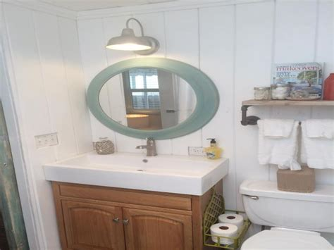 mobile bathroom beach cottage decor ideas for your mobile home