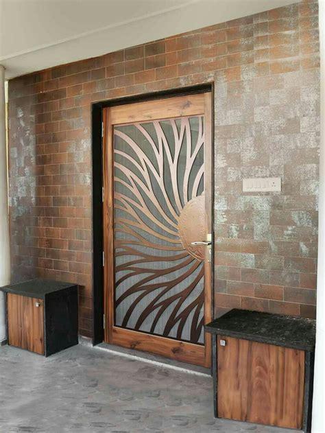sunshine  flower inspired door door design main door
