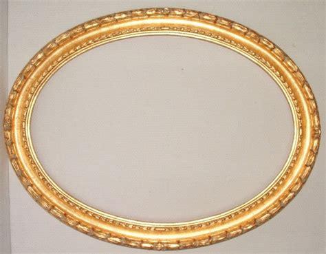 cornici ovali cornice ovale foglia oro