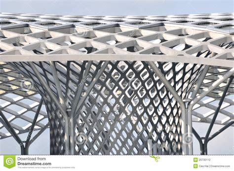 design frame structure building frame of steel structure construction stock photo image