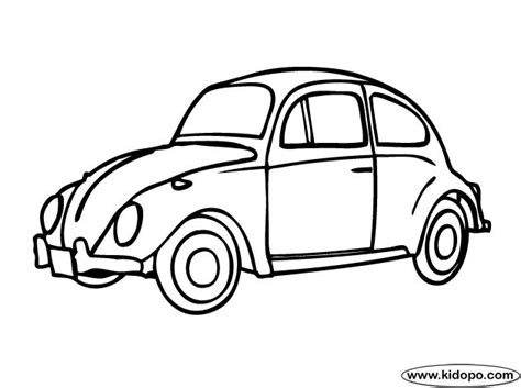 punch buggy car drawing slug bug classroom ideas