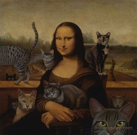 mona cat claudia klaudia mona lisa as the cat lady mona lisa pop
