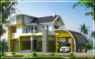 modern villa house plans april 2012 kerala home design and floor plans