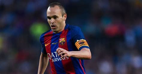 barcelona believe andres iniesta will leave for chinese epl arsenal moves to sign iniesta from barcelona daily
