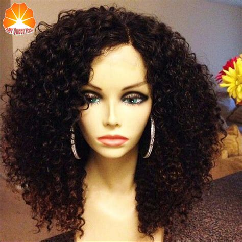 best black big wigs hairstyles 7a grade brazilian short curly full lace human hair wigs