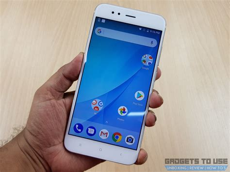 Xiaomi Mi A1 xiaomi mi a1 is an android one device with dual cameras