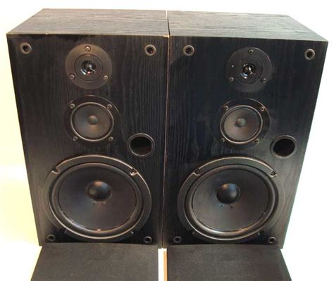 rca 40 5016 home theater stereo bookshelf speakers 5 1 ebay