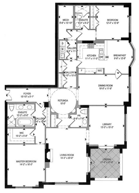 toronto floor plans one st thomas condo residences at 1 st thomas street toronto